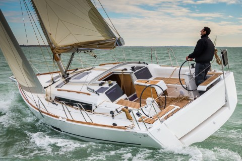 La Rochelle, France, 18 October 2014 Dufour Yachts The new Dufour 350 Ph: Guido Cantini / Dufour/Sea&See.com