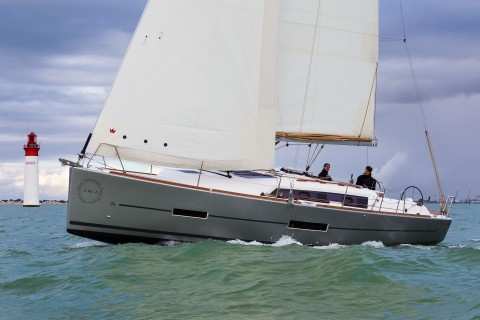 La Rochelle, France, 18 October 2014 Dufour Yachts The new Dufour 382 Ph: Guido Cantini / Dufour/Sea&See.com